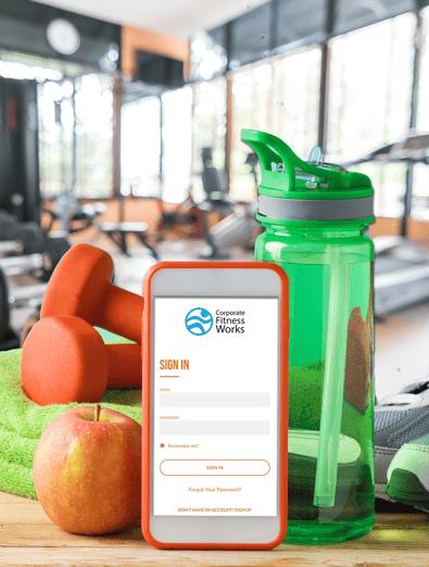 PT Fit works app flyer image